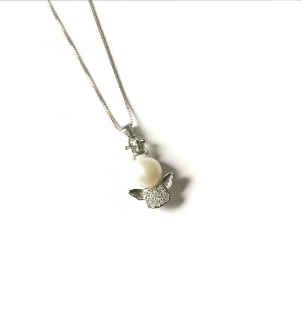 collar angel perla